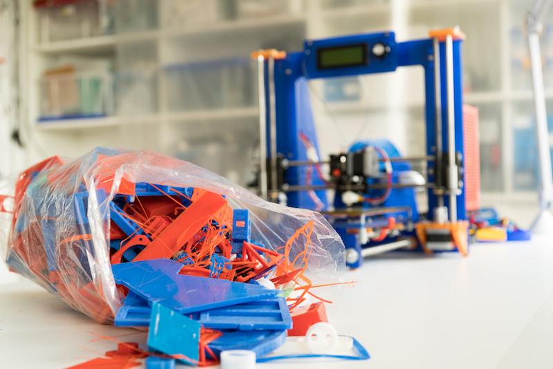Image result for 3d printing waste management