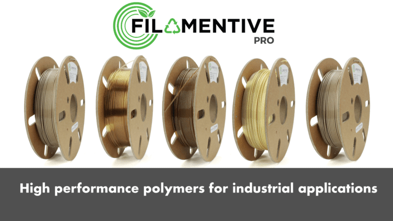 Filamentive Launch High Performance Polymers for Industrial 3D Printing